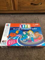 MB Games - Game Of Life Be A Top Advertising Guru! Board Game BNSB