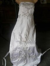 Wedding dress Gown Size 34in chest