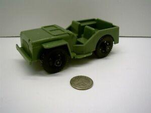 TIM-MEE GREEN ARMY PLASTIC JEEP