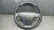 VOLVO C70 MK2 08-09 MULTIFUNCTION STEERING WHEEL LEATHER WITH SRS 30778746 #G3F0