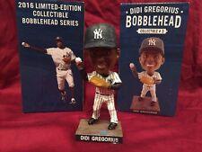 Didi Gregorius SGA 8/7/2016 New York Yankees Bobblehead Statue Figurine BNIB