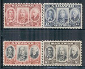 SARAWAK 155-58 SG146-49 MH 1946 Centenary Issue set of 4 Cat$20
