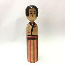 Recommend 18.2cm Abe-Heoshiro(1929-2013) Kokeshi Japan No.JK423