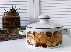 Vintage Midwinter Summer Stonehenge Oven Dish Rare Casserole Serving Dish 1970s