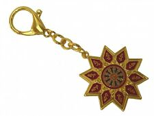 Feng Shui Ten-Hum with Magic Syllable Keychain Amulet