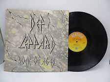 "Def Leppard - Rock of Ages, 12"" Single RARE UK Vertigo VERX 6 Vinyl LP Record NM"