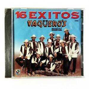 VAQUEROS MUSICAL - 16 Exitos - Algas marinas, El Disgusto, La Gringa - Musart CD
