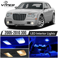 2005-2010 Chrysler 300 Blue LED Lights Interior Package Kit