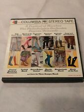 """Festival of Marches by Philadelphia Orchestra 7"""" Tape 4 track Reel to Reel"""