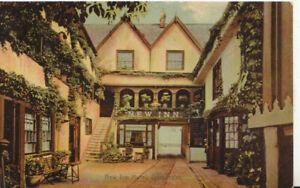 Gloucestershire Postcard - New Inn Hotel - Gloucester - Ref TZ5788
