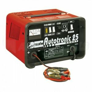 Telwin TWAUTOTRONIC25 12-24V Battery Charger 15Amp **Free Postage**