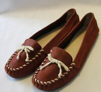 WITTNER ~ Zilly Chocolate Brown Suede Flat Moccasins EU 40 AU 9