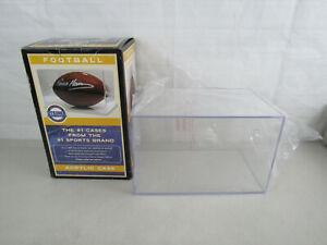 "Steiner Sports Full Size Football Display Case 11 5/8"" X 7 3/8"" X 7 3/8""-New"