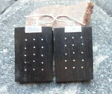 Wooden without Stone Sterling Silver Handcrafted Jewellery