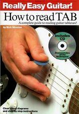 RLLY EASY GTR HOW TO READ TAB BK/CD; Minnion, Nick, Default setting - AM981607