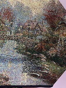 Thomas Kinkade Table Runner Tapestry