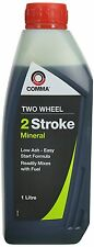 Comma Two Wheel 2 Stroke Oil 1 Litre For Motorbikes, Scooter, Moped, Lawnmowers