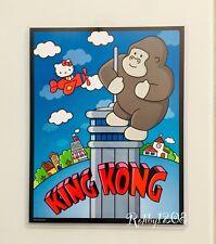 "Exclusive Universal Studios x Hello Kitty King Kong Poster Art Print 14"" X 11"""