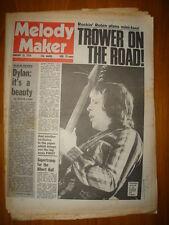 MELODY MAKER 1976 JAN 10 ROBIN TROWER DYLAN SUPERTRAMP