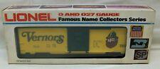 """MIB New 1977 Lionel Trains (6-7890) """"Vernors"""" Box Car O-Scale Model Railroad 027"""