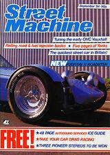 STREET MACHINE SEPTEMBER 1984-FUGITIVE ROADSTER-WOLSELEY 4/44-MINX GASSER-RODMAG