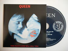 QUEEN : TOO MUCH LOVE WILL KILL YOU [ CD SINGLE ] ~ PORT GRATUIT