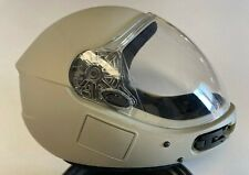 KISS Flat Gray Full Face Skydiving Helmet -- Size Small -- Excellent Condition