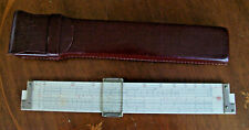 Frederick Post 1460 Versalog 12 Inch Scientific Slide Rule with Case