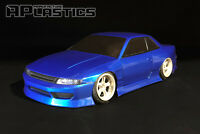 RC Body Car Drift Touring 1:10 Nissan Silvia S13 Odyvia style APlastics New