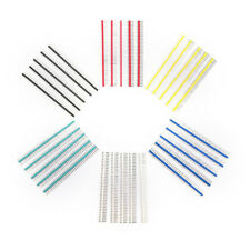 30pcs 40 Pin Connector Male 2.54mm Pitch Pin Header.Strip Single Row Kit for PCB