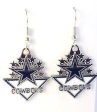 Dallas Cowboys Long Earrings NFL football earrings for women gift Jewelry