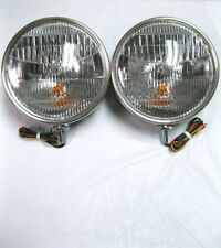 1933 1934 Ford Car Commercial Pickup Truck Headlights w/ Turn Signal No Script