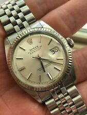 "ROLEX Datejust 1601 ""No Lume"" dial WG bezel (Box + Manual + Card + Sticker)"