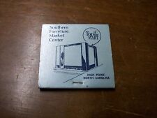 Southern Furniture market Match Book High point NC-Top of the Mart-    Cigarbox1