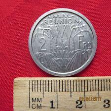 Reunion-Republique Française 2 francos 1948-ALU-estado-III