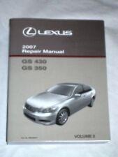 service repair manuals for lexus gs350 for sale ebay rh ebay com Truck Manual Parts Manual
