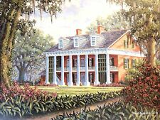 """""""Southern Heritage IV"""" by Steve Bourgeois Shadows On The Teche Plantation (S/N)"""