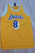 Kobe Bryant Nba Jersey L.A. Lakers #8 Large Yellow Game Edition Sga Black Mamba