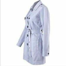 Cabi New NWT Size XS Tanner Trench #5296 Silver Lake Blue 2018 Stunning!