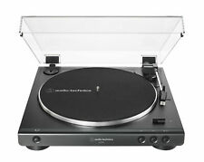 Audio Technica AT-LP60X-BK Fully Automatic Belt-Drive Turntable (Black) [New Acc