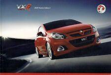 Vauxhall VXR 2008-09 UK Market Brochure Corsa Meriva Astra Zafira Vectra VXR8