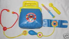 Sesame Street Doctor Kit W Equipment Costume Accessory