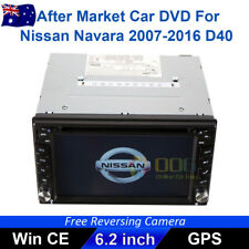 "6.2"" Double 2 DIN Car DVD Player Stereo GPS for Nissan Navara 2007-2016 D40"