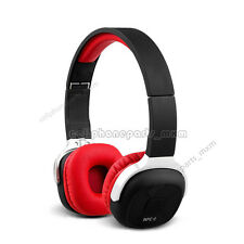 Red New Bee Wireless Headset Bluetooth4.1Stereo NFC Foldable Headphone Pedometer
