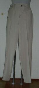 Damenhose neu   Gr.38   beige/rosa/natur kariert   Polyester/Viskose   Nr.4853