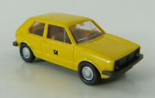 VW Golf I Post gelb Wiking 1:87 H0 ohne OVP [FO2-G6]