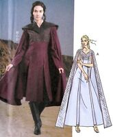 S3809 Simplicity 3809 Sewing Pattern English Renaissance Misses Costume Tudor