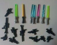 doppio Spada Laser LEGO Star Wars personaggio Darth Maul sw323 da 7961 incl