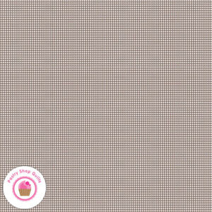 Riley Blake PRIM C9698P Brown Gingham Check Quilt Fabric LORI HOLT 30's VINTAGE
