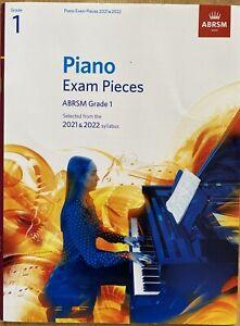 Piano Exam Pieces 2021-2022 ABRSM Grade 1 Book